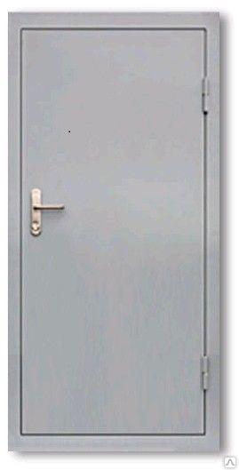 дверь металлическая однопольная глухая